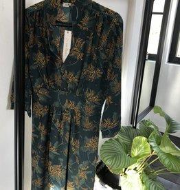 Fashion Dress - Green & flowers