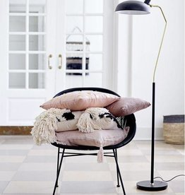 Bloomingville Floor lamp, black metal