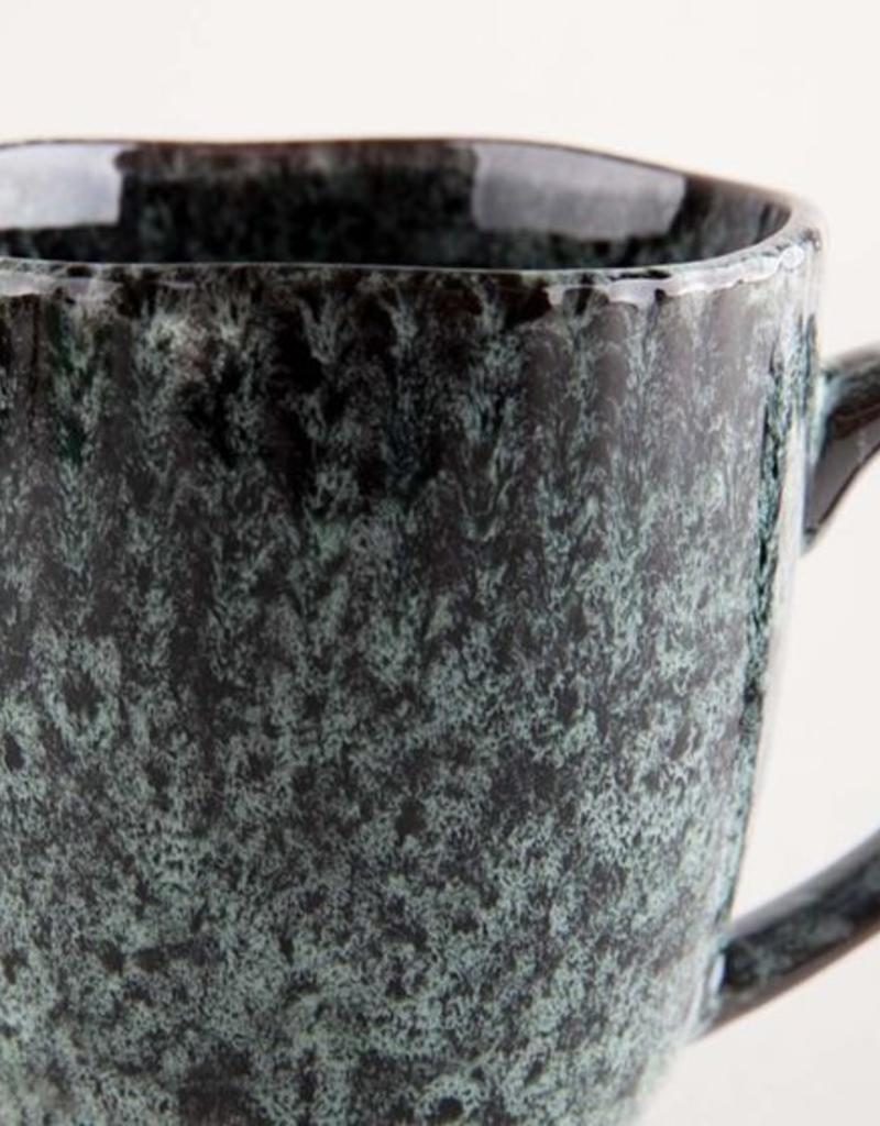 Madam Stoltz Madam Stoltz - Stoneware mug green
