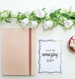 A journal Wedding Journal