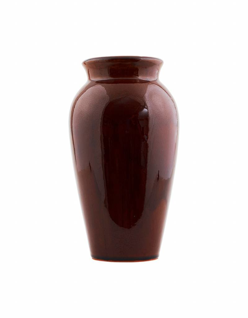 House Doctor House Doctor- Vase, Antique, brown small