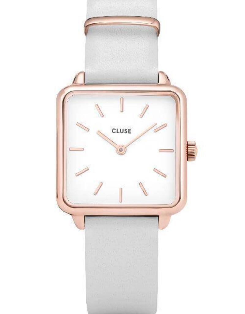 Cluse Cluse- La Garconne - Rose gold white/white
