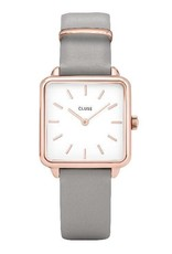 Cluse Cluse- La Garconne - Rose gold white/grey