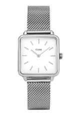 Cluse Cluse- La Garconne - Silver mesh/white