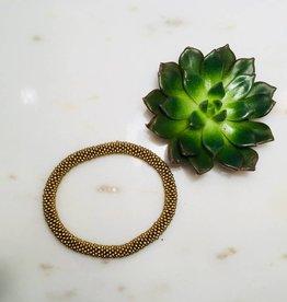 Biba Armband beads - gold