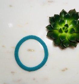 Biba Armband beads - mat blue