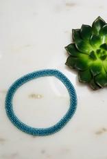Biba Biba- armband beads - shiny blue