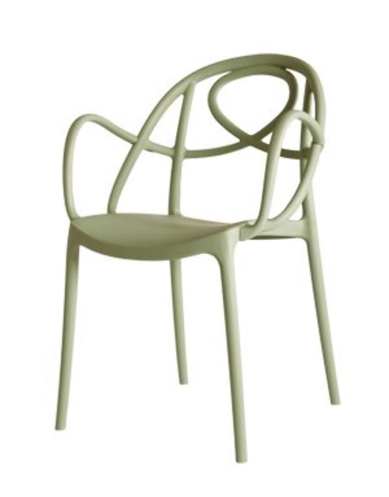 Green Green - Etoile-P stoel met armleuning