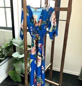 Maxi dress - large flowers -TU