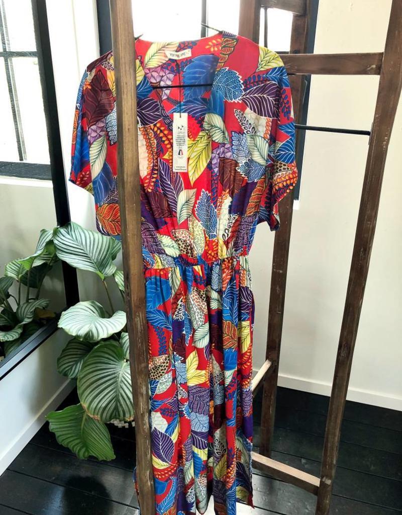Maxi dress - Vintage love - RED