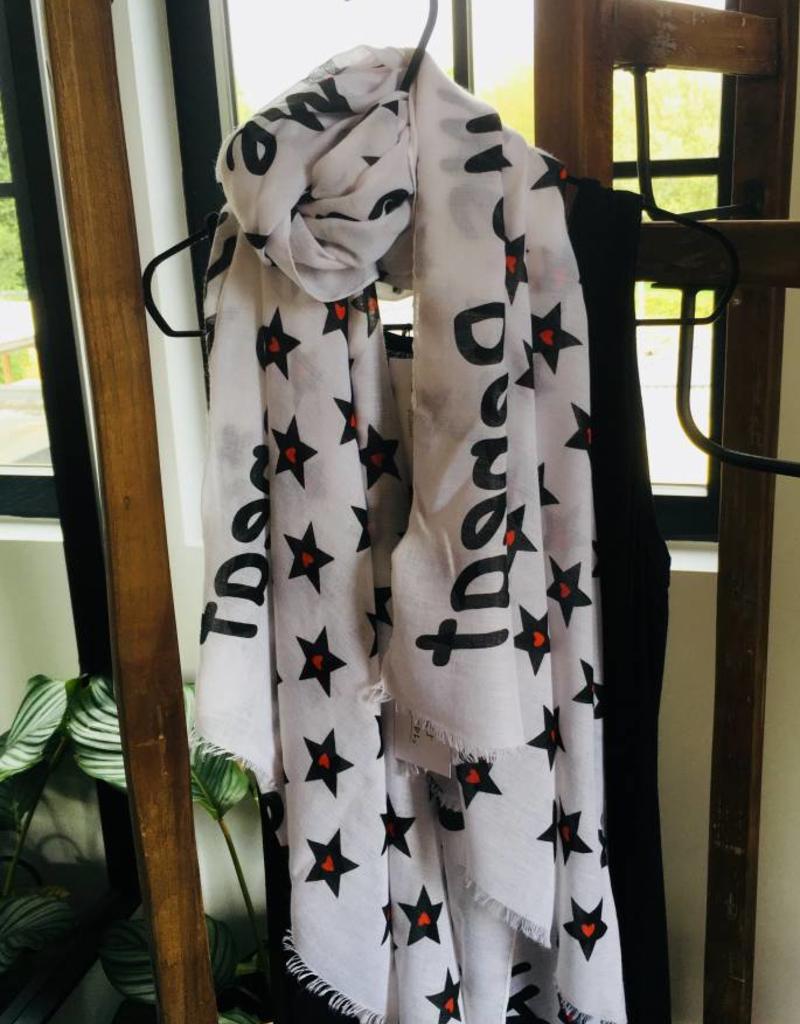 Fashion - sjaal - star