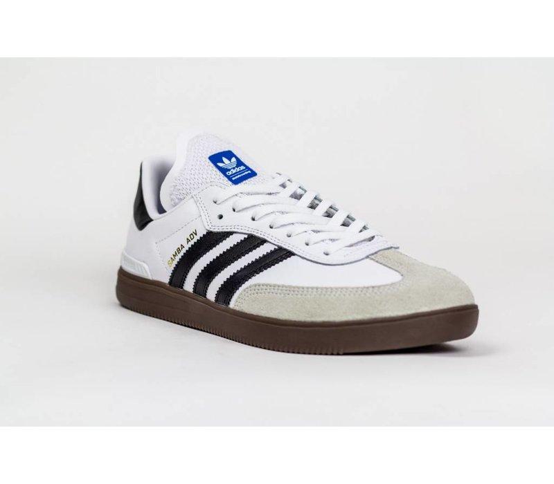 Adidas Samba ADV White/Black/Gum