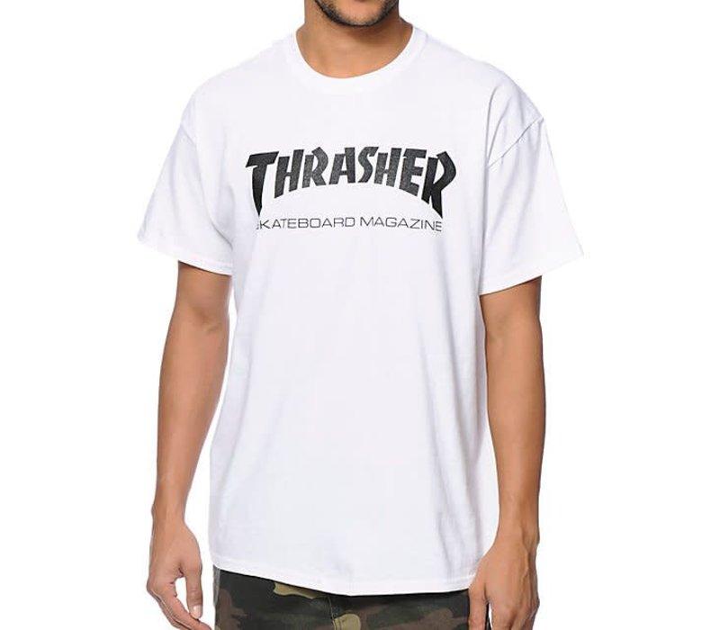 Thrasher Skate Mag Tee White
