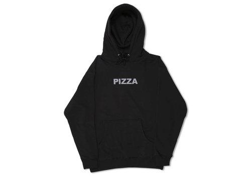 Pizza Pizza Logo Hoodie Black