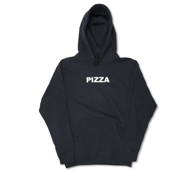 Pizza Logo Hoodie Navy