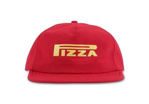 Pizza Pizza Pepperelli 5 Panel Cap Red