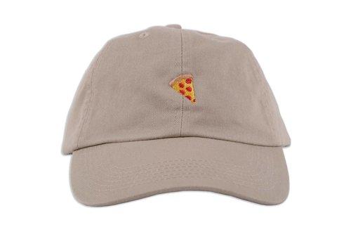 Pizza Pizza Emoji Polo Cap Khaki