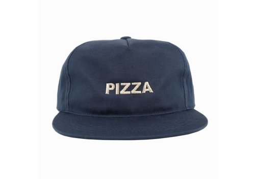 Pizza Pizza Logo Unstructured Cap Navy