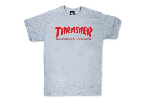 Thrasher Thrasher Skate Mag Tee Charcoal Grey