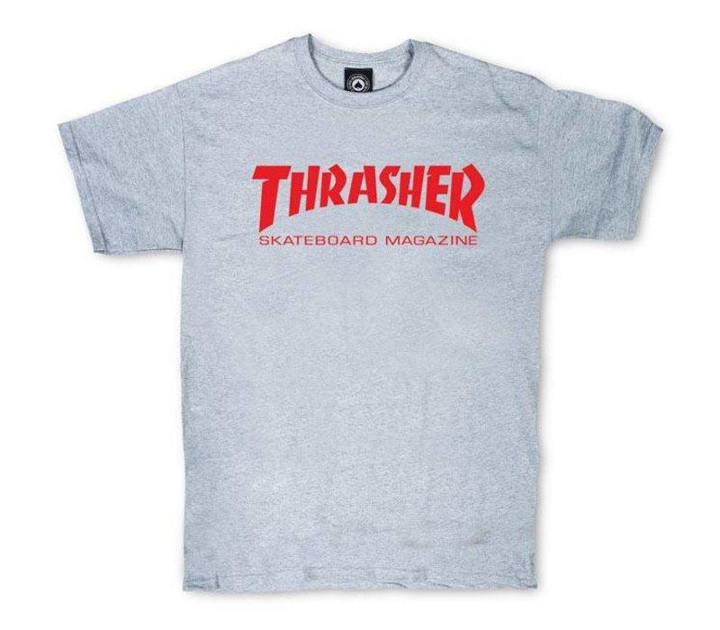 Thrasher Skate Mag Tee Charcoal Grey