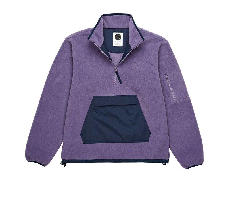 Polar Gonzalez Fleece Jacket Navy / Lilac