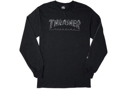 Thrasher Thrasher Web Logo L/S Black