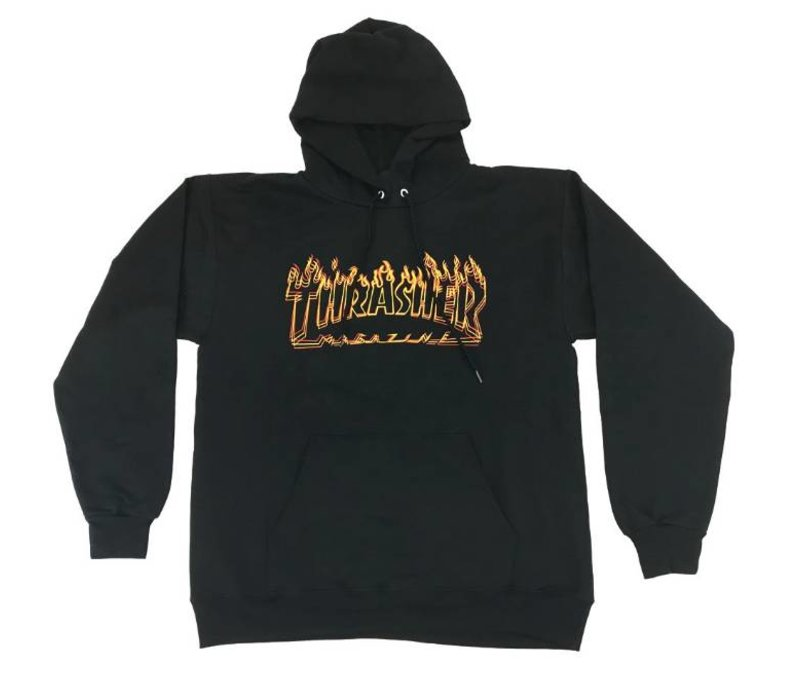 Thrasher Richter Hood Black