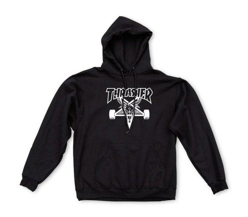 Thrasher Skate Goat Hood Black