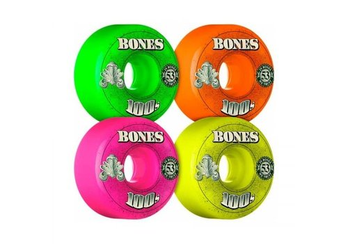 Bones Bones Wheels - V1 100's OG Formula Party Pack 53mm