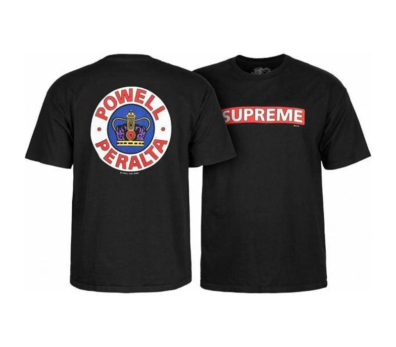 Powell Peralta Supreme T-Shirt Black