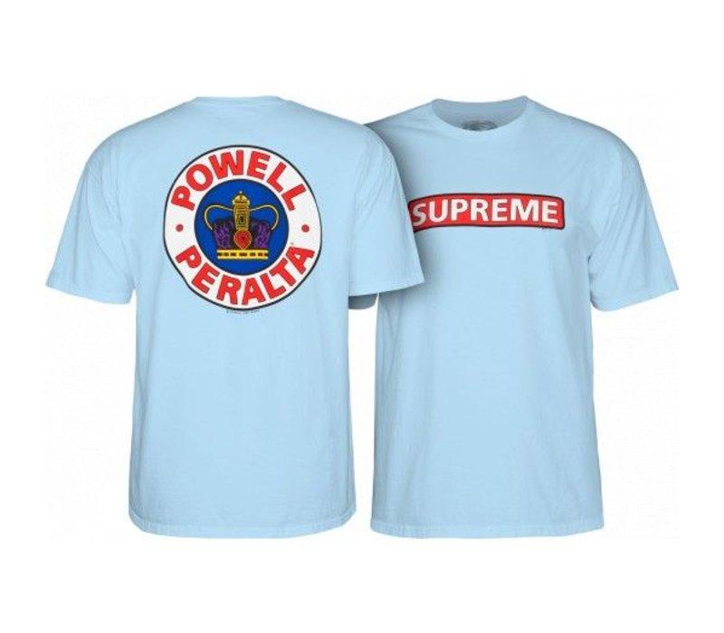 Powell Peralta Supreme T-Shirt Light Blue