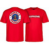 Powell Peralta Powell Peralta Supreme T-Shirt Red