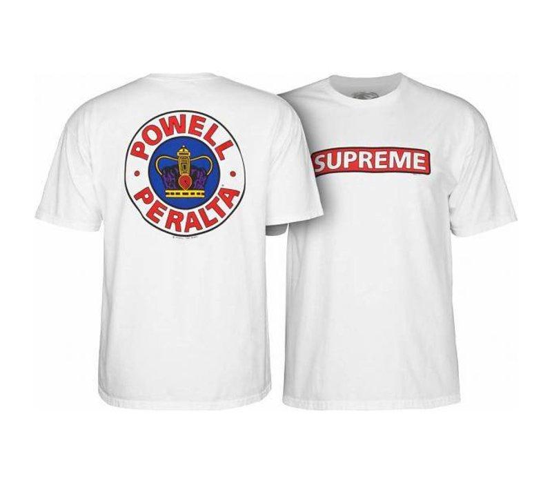 Powell Peralta Supreme T-Shirt White