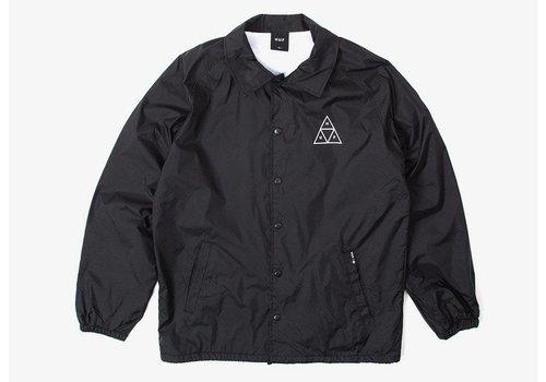 HUF Huf Triple Triangle Coaches Jacket Black