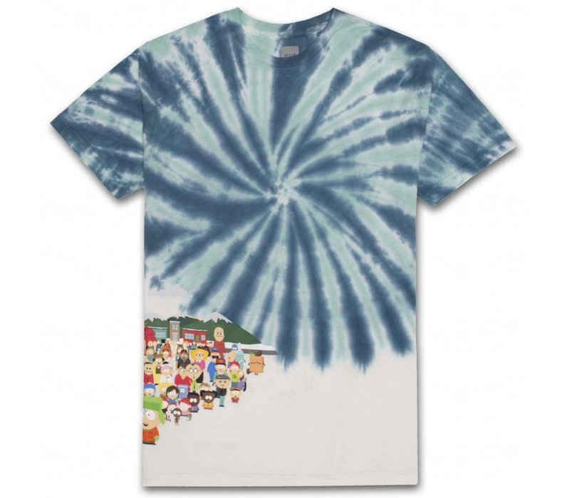 Huf X South Park Opening Tee Blue