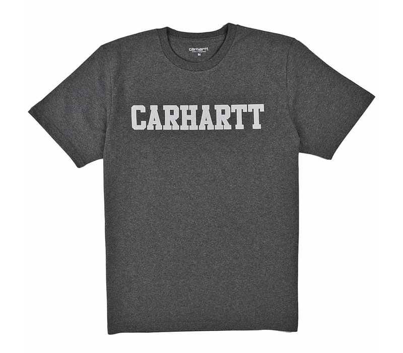 Carhartt College T-Shirt Dark Grey Heather