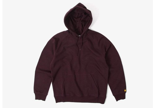 Carhartt WIP Carhartt Hooded Chase Sweat Damson/Gold