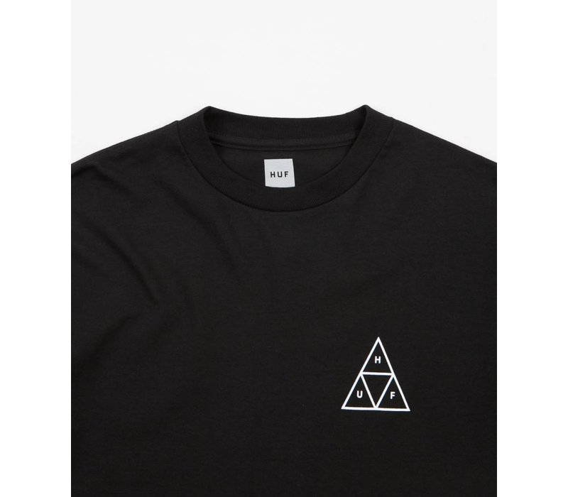 Huf Triple Triangle LS Black