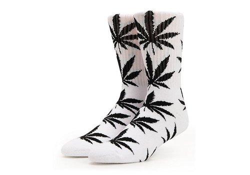 HUF Huf Plantlife Crew Socks White/Black