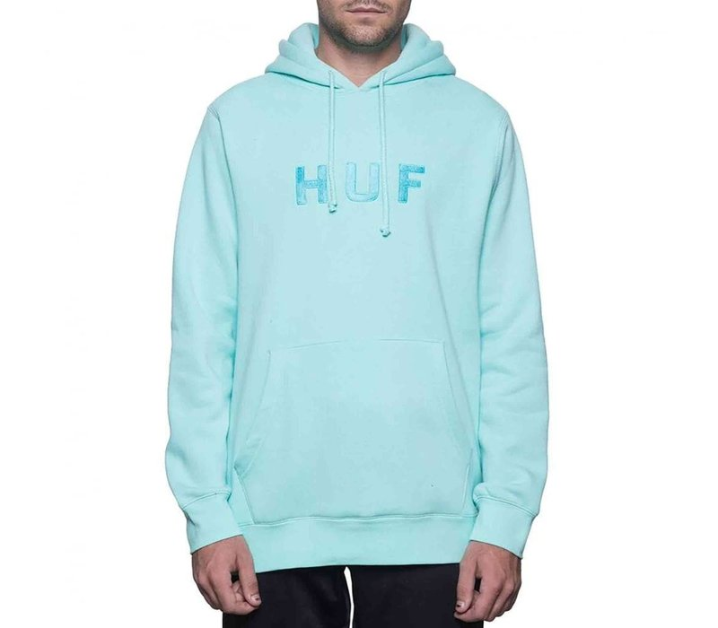 Huf OG Logo Pull Over Celadon