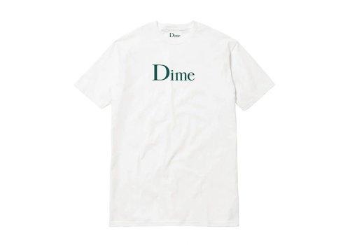 Dime Dime Classic Logo Tee White