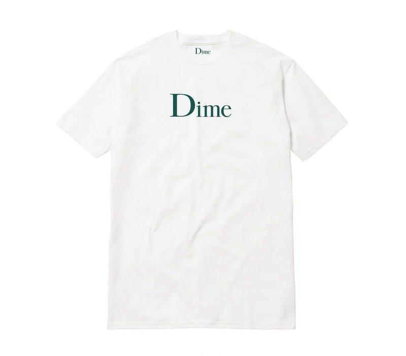 Dime Classic Logo Tee White