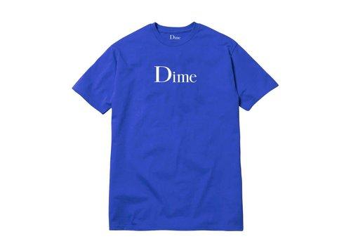 Dime Dime Classic Logo Tee Royal Blue