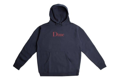 Dime Dime Classic Logo Hood Navy