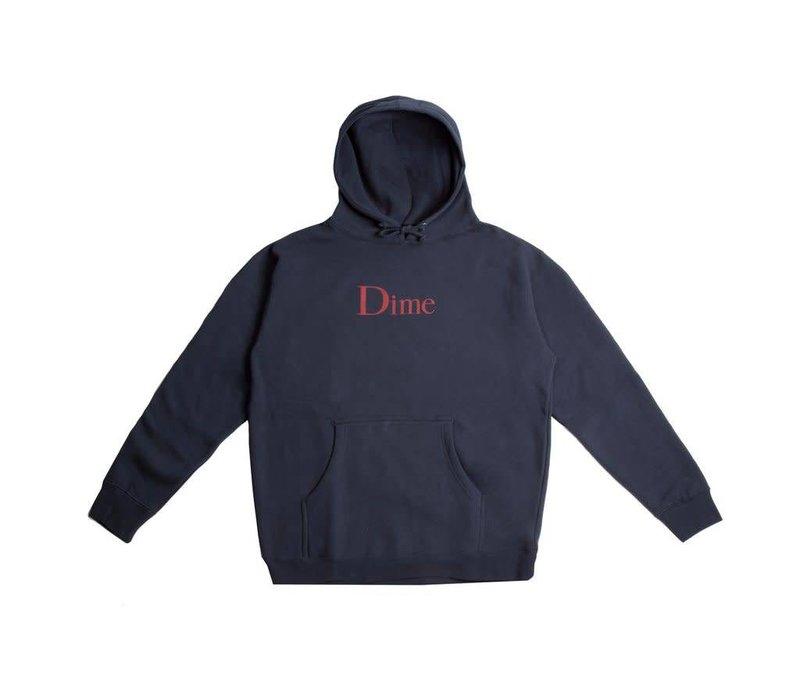 Dime Classic Logo Hood Navy