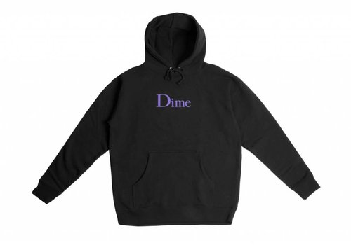 Dime Dime Classic Logo Hood Black