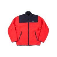 Dime Polar Fleece Jacket Coral/Navy