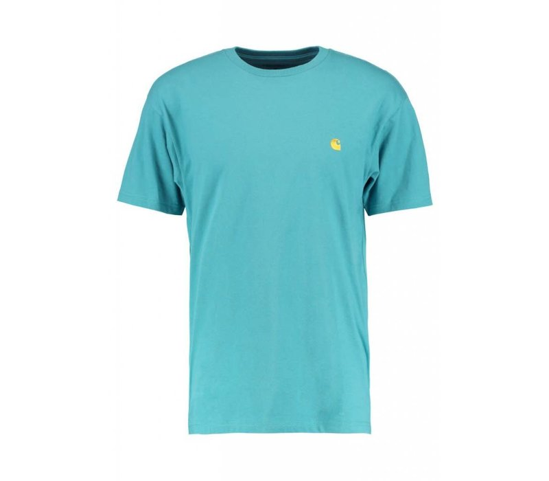 Carhartt Chase T-Shirt Teal