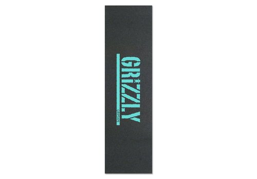 Grizzly Grizzly Stamp Print Griptape Diamond Blue