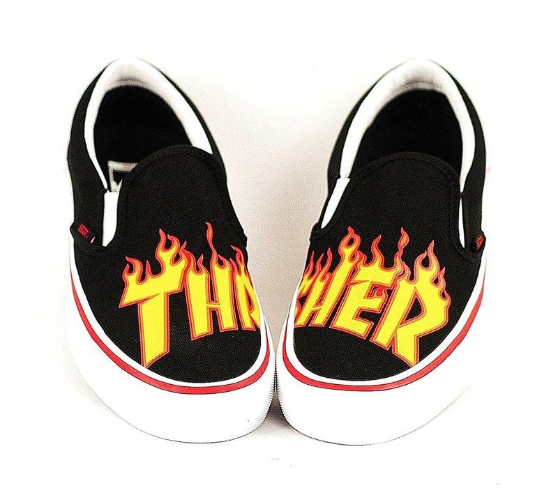Vans x Thrasher Slip-on Black